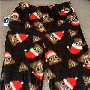 Other - Fleece emoji pants